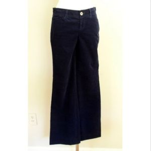 Lilly Pulitzer Palm Beach Fit Navy Corduroy Pant